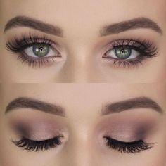 So natural and beautiful, love it! #Makeup #Holidays #MakeupIdeas