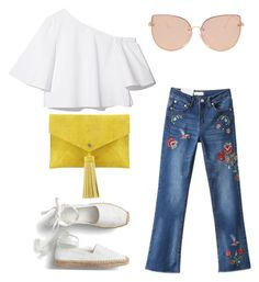 """""""Summer Outfit"""" by vasilica-cor on Polyvore featuring moda, Neiman Marcus e Topshop"""