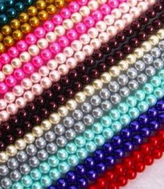 Gorgeous Glass Pearl Beads