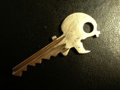 johnstortz:  If there are skeleton keys, why not skull keys?I had my keys copied and two of them looked identical, so I took a dremel and cut a bottle opener into one. Submitted it to EDC (keep up the good work!) and then refined it into a skull-like shape.Sort of sad I didn't think of cutting it the other way 'round, so the key ridges made up the spine.Someone market this, I'm too lazy.  Editors Note: TOO DOPE