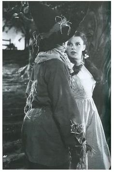 On the set of The Wizard of Oz