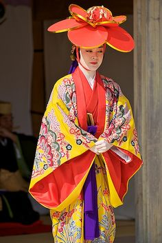 Ryukyu Dance | by davegolden Traditional Dresses, Traditional Art, Kimono Design, Japanese Outfits, Okinawa Japan, Japanese Kimono, Wizard Of Oz, Japanese Culture, Beautiful Islands