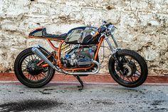 1982 BMW - route 62 Customs in Port Elizabeth, South Africa Bmw Motorcycles, Custom Motorcycles, Custom Bikes, Bmw 100, Suzuki Cafe Racer, Nine T, Bmw Boxer, Motosport, Cafe Style