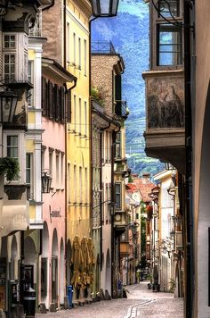 Steep Street, Lyon, France