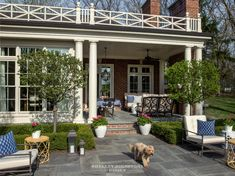 Green Bay Rd. Colonial - Shelley Johnstone Design Metal Pergola, Outdoor Pergola, Pergola Plans, Diy Pergola, Pergola Kits, Outdoor Rooms, Outdoor Living, Outdoor Decor, Pergola Garden