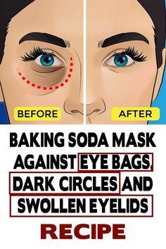 Baking Soda Mask Against Eye Bags, Dark Circles And Swollen Eyelids – Recipe - ReVault Source by Bags for work Baking Soda Mask, Baking Soda Shampoo, Honey Shampoo, Shampoo Bar, Home Beauty Tips, Beauty Hacks, Diy Beauty, Beauty Ideas, Beauty Guide