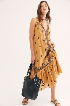 Nomadic Dreams Dress by Free People, Brown, XS Napa Valley Style, Napa Style, Free People Store, New Today, Free People Dress, Dream Dress, New Outfits, Pretty, Casual