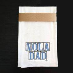 Kitchen Towel  New Orleans Graphics  Nola by BethDaiglePhotograph
