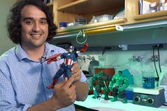 Little is known how comic book superheroes Captain America and the Incredible Hulk got their superpowers. Stanford biologist Sebastian Alvarado has the answer: epigenetics.