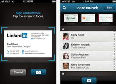 5 #Apps to Digitize Your Business Cards | via Mashable