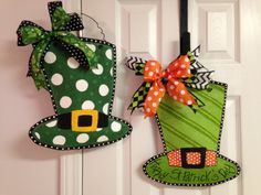 St. Patrick's Day Leprechaun Hat Stuffed by BeccasFrontDoorDecor, $35.00 each