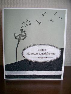 Carte pour condoléances                                                                                                                                                                                 Plus
