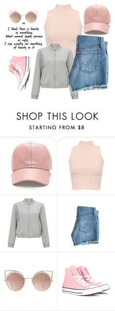 """""""I an't thinking bout' you🖕🏼"""" by ilyenkochica7 ❤ liked on Polyvore featuring WearAll, Miss Selfridge, AG Adriano Goldschmied, MANGO and Converse"""