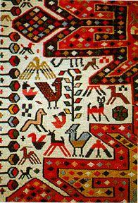 Carpet collection from Muzaffer Kal (Very good copy ) Textile Fabrics, Textile Art, Turkish Design, Prayer Rug, Tribal Rug, Kilim Rugs, Rugs On Carpet, Folk Art, Pattern Design