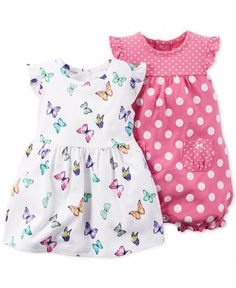 carters in Baby and Toddler Clothing and Accessories Carters Baby Girl, Baby Girl Romper, Baby Girl Dresses, Baby Girl Newborn, Baby Dress, Girl Toddler, Dress Set, Baby Boy, Outfits Niños