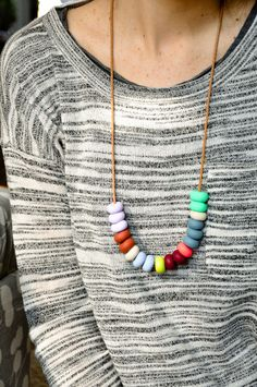 Color Study Necklace designed by emily green