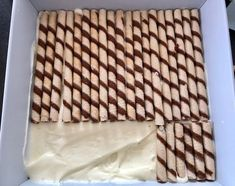 Pipeline – delicious cake without baking! Sweets Recipes, Cake Recipes, Cooking Recipes, Peanut Butter Cookie Lasagna, Homemade Sweets, Good Food, Yummy Food, Polish Recipes, Sweet Cakes