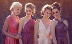 2 colours bridesmaids - Google Search