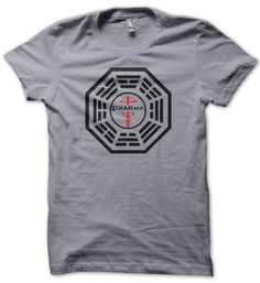 Amazon.com: Men's American Apparel Dharma Staff Logo Shirt: Clothing