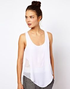 Discover the latest fashion and trends in menswear and womenswear at ASOS. Shop this season's collection of clothes, accessories, beauty and more. Asos Online Shopping, Latest Fashion Clothes, Basic Tank Top, Athletic Tank Tops, Women Wear, Vest, Shirts, Beauty, Collection
