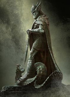 """Tiber Septim Commonly known as General Talos, Hjalti Early-Beard, the Dragonborn, and Ysmir. Tiber Septim was an emperor of Nordic descent who became one of the most famed figures in Tamrielic history, reigning as Emperor Tiber Septim from 2E 854-3E 38. He ruled for 81 years, and was considered by many to be the greatest emperor in the history of Nirn.Tiber is now revered as one of the Nine Divines under the name of Talos (his birth name), which means """"Stormcrown""""."""