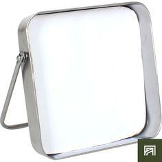 alinea :  piazza miroir carré à poser avec contour en métal 20x20cm     - #Alinea #Décoration #Miroir #Métal - inspiration meubles et déco