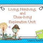 (science, living & nonliving) Your students will enjoy learning about living, nonliving and once-living things with this unit! Take a clipboard and pencil and explore the outdoo...