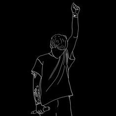 Cool Black Wallpaper, Black Background Wallpaper, Black Phone Wallpaper, Boys Wallpaper, Black Aesthetic Wallpaper, Aesthetic Wallpapers, Hipster Wallpaper, One Direction Drawings, One Direction Art