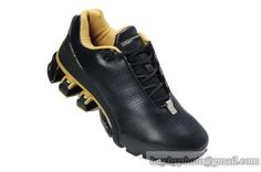 Men's Adidas Porsche Design 4 Running Shoes Full Head Leather A  Black Gold|only US$85.00 - follow me to pick up couopons.