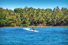"Siargao is known as the ""Surfing Capital of the Philippines"", but you don't need to be a surfer to enjoy the beautiful scenery and natural attractions on the island. Siargao Philippines, Philippines Beaches, Siargao Island, Huge Waves, Travel Guides, Surfboard, Seaside, Travel Inspiration, Surfing"