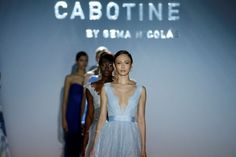 Cabotine By Gema Nicolás en BARCELONA BRIDAL WEEK 2015