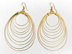 Eternity Earrings (Brass)