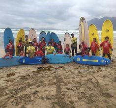 Gran día de #Surfing para nuestros alumnos en la playa de #famara #lanzarote !! http://ift.tt/SaUF9M