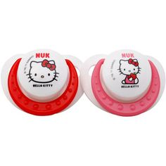 NUK - Hello Kitty Silicone Pacifier, Size 2, 2-Pack  Walmart