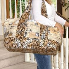 Pacific Carryall Purse Bag Tote | Craftsy