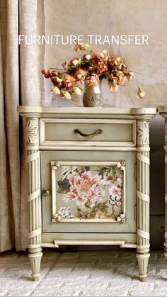 Painting Antique Furniture, Eco Furniture, Painted Bedroom Furniture, Chalk Paint Furniture, Upcycled Furniture, Shabby Chic Furniture, Furniture Makeover, Furniture Design, Bedside Table Inspiration