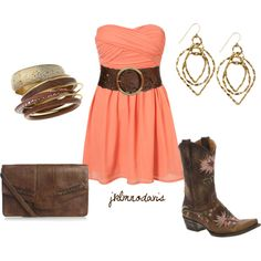 Outfit for Nashville trip! Cute N Country, Country Girl Style, Country Fashion, Country Life, Southern Style, Country Chic, Country Prom, Country Wear, Country Living