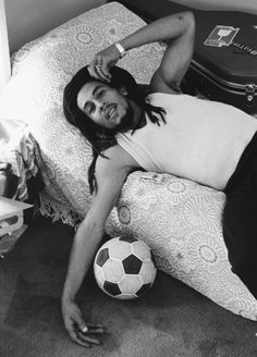 Bob Marley. You shouldn't love him because he smoked weed. You should love him for the music he makes that fills your soul.