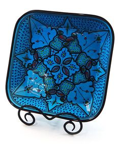 Look what I found on #zulily! Sabrine Square Serving Bowl by Le Souk Ceramique #zulilyfinds