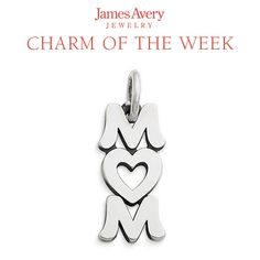 Show mom all she means to you with the Love You Mom Charm.#JamesAvery