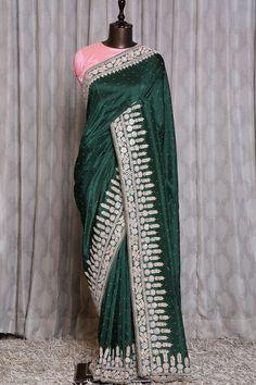Lehenga Style Saree, Party Wear Lehenga, Saree Look, Net Saree, Sari, White Saree Blouse, Bridal Silk Saree, Blouse Designs Silk, Ethnic Sarees