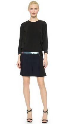Victoria Victoria Beckham Batwing Mini Dress