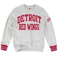 Team Celebration Crew Detroit Red Wings - Shop Mitchell   Ness NHL Fleece  and Sweatshirts 890e7d027