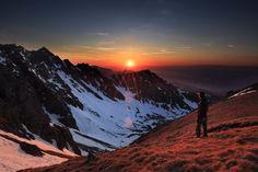 Sunset at Krzyżne