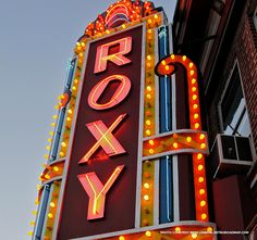 Owner Richard Wolfe does a daily check to ensure none of the hundreds of bulbs on the restored marquee are burned out at The Roxy Theatre in Northampton, PA. Read more: http://blog.preservationnation.org/2014/12/12/retro-roadmap-roxy-theatre-northampton-pennsylvania #retroroadmap #historictravel #pennsylvania #preservation #historictheatres