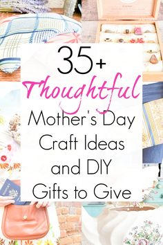 Looking for some DIY ideas for handmade gifts to give mom for Mother's Day? These Mother's Day craft ideas are perfect for DIY gifts to give her! No matter how old you get, mom will always love a sweet and thoughtful homemade gift. #mothersday #mothersdaygiftideas #homemadegifts #handmadegifts #giftsforher #giftsformom #upcycledgifts #repurposedgifts #giftideasforher #giftideasformom Upcycled Crafts, Easy Diy Crafts, Diy Craft Projects, Fun Crafts, Repurposed, Crafts For Kids, Amazing Crafts, Diy Gifts For Mom, Diy Mothers Day Gifts