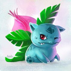 002 - Ivysaur by TsaoShin on DeviantArt Bulbasaur Pokemon, Pokemon Go, Pokemon Images, Pokemon Pictures, Geeks, Bulbasaur Evolution, Deviantart Pokemon, Cartoon Design, Catch Em All