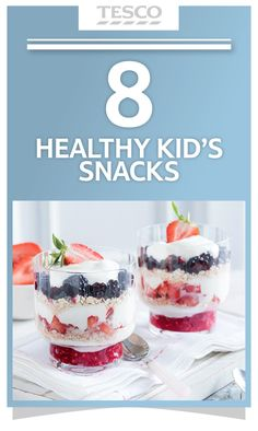 Child-friendly snacks can be nourishing as well as satisfying – and we have tons of inspiration. From delicious dips to frozen fruit treats, our easy recipes will help you provide hassle-free, healthy snacks for the kids.