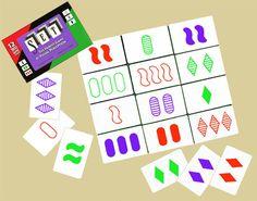 Описание игры «Set» + материалы для распечатки - Настольные игры: Nастольный Blog - Всё о настольных играх на русском языке