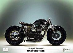 Inazuma café racer: Twin of legendsj Triumph Bikes, Triumph Bonneville, Cool Motorcycles, Triumph Motorcycles, Moto Cafe, Cafe Bike, Bobbers, Style Bobber, Ducati